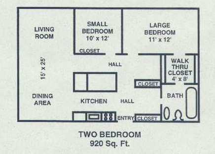 2 Bedrooms 1 Bathroom Apartment for rent at 2050 Allen Blvd in Middleton, WI