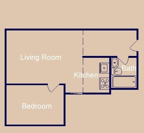 1 Bedroom 1 Bathroom Apartment for rent at 1 N Bedford Street in Madison, WI