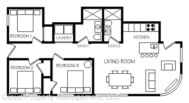 3 Bedrooms 2 Bathrooms Apartment for rent at 2725 27 W. 24th St. in Chicago, IL