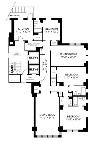 3 Bedrooms 3 Bathrooms Apartment for rent at 3000 N Sheridan in Chicago, IL
