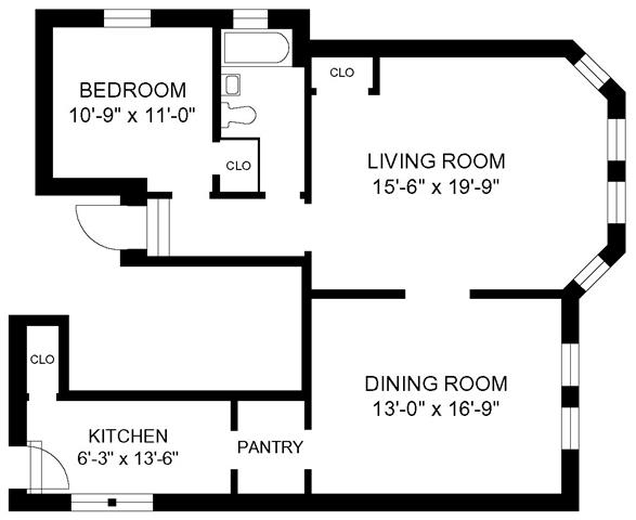 1 Bedroom 1 Bathroom Apartment for rent at 910-16 Judson in Evanston, IL