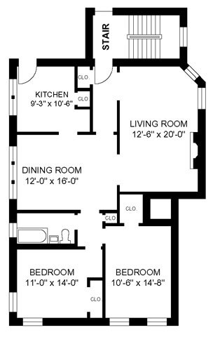 2 Bedrooms 1 Bathroom Apartment for rent at 910-16 Judson in Evanston, IL