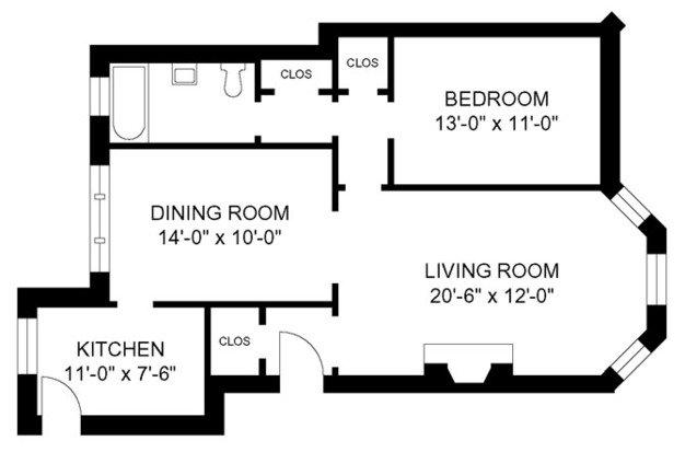 1 Bedroom 1 Bathroom Apartment for rent at Michigan & Kedzie in Evanston, IL