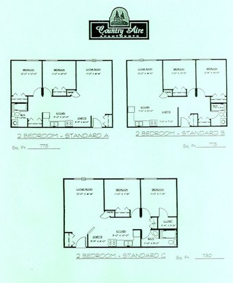 2 Bedrooms 1 Bathroom Apartment for rent at Country Aire Apartments in Hartland, WI
