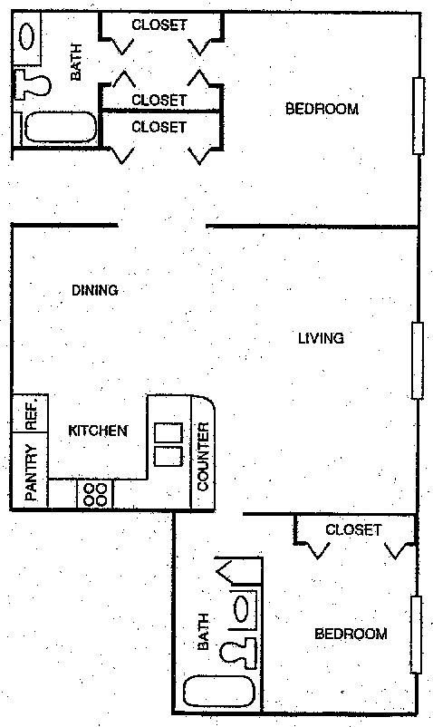 2 Bedrooms 2 Bathrooms Apartment for rent at Foxtail Meadows Apartments in Pewaukee, WI