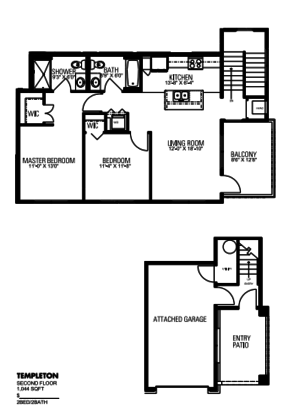 2 Bedrooms 2 Bathrooms Apartment for rent at Lincolnshire Place in Wales, WI