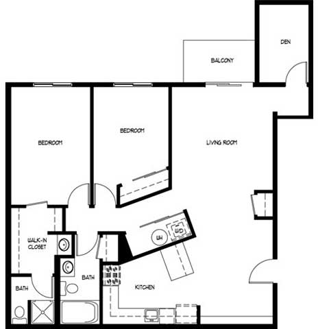 2 Bedrooms 2 Bathrooms Apartment for rent at Monterey Apartments in Waukesha, WI