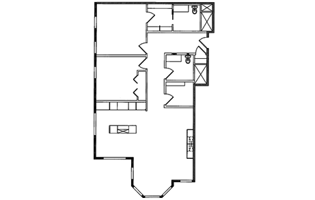 2 Bedrooms 2 Bathrooms Apartment for rent at The Dennison in Columbus, OH