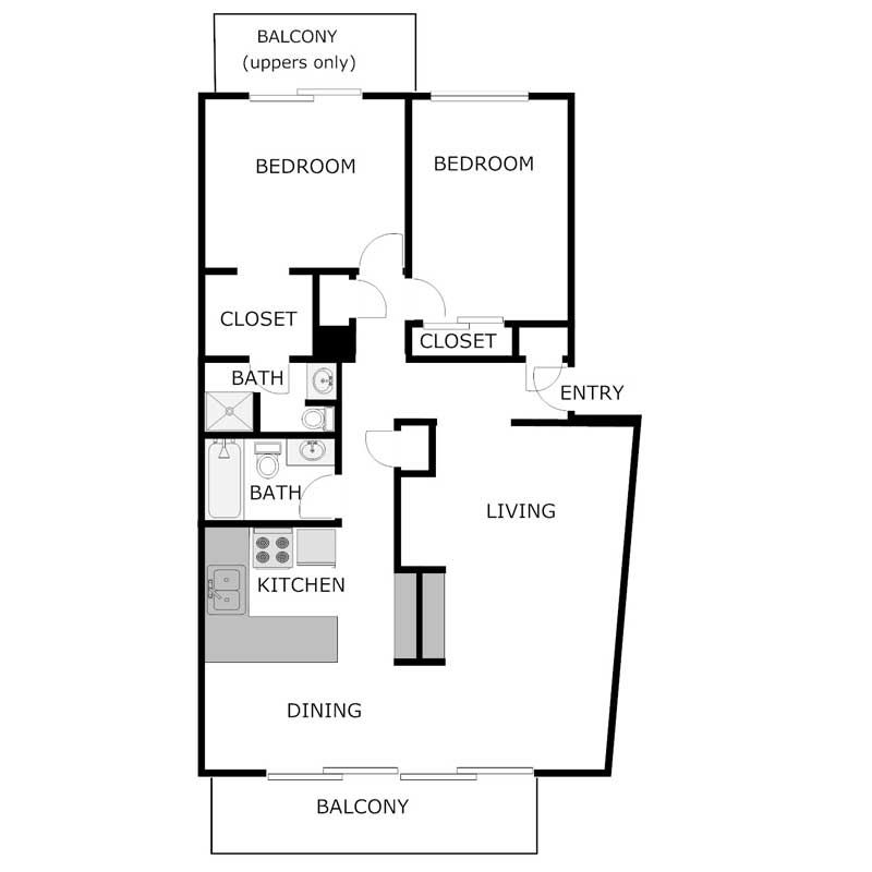 2 Bedrooms 2 Bathrooms Apartment for rent at Summit Lake Apartments in Hartland, WI
