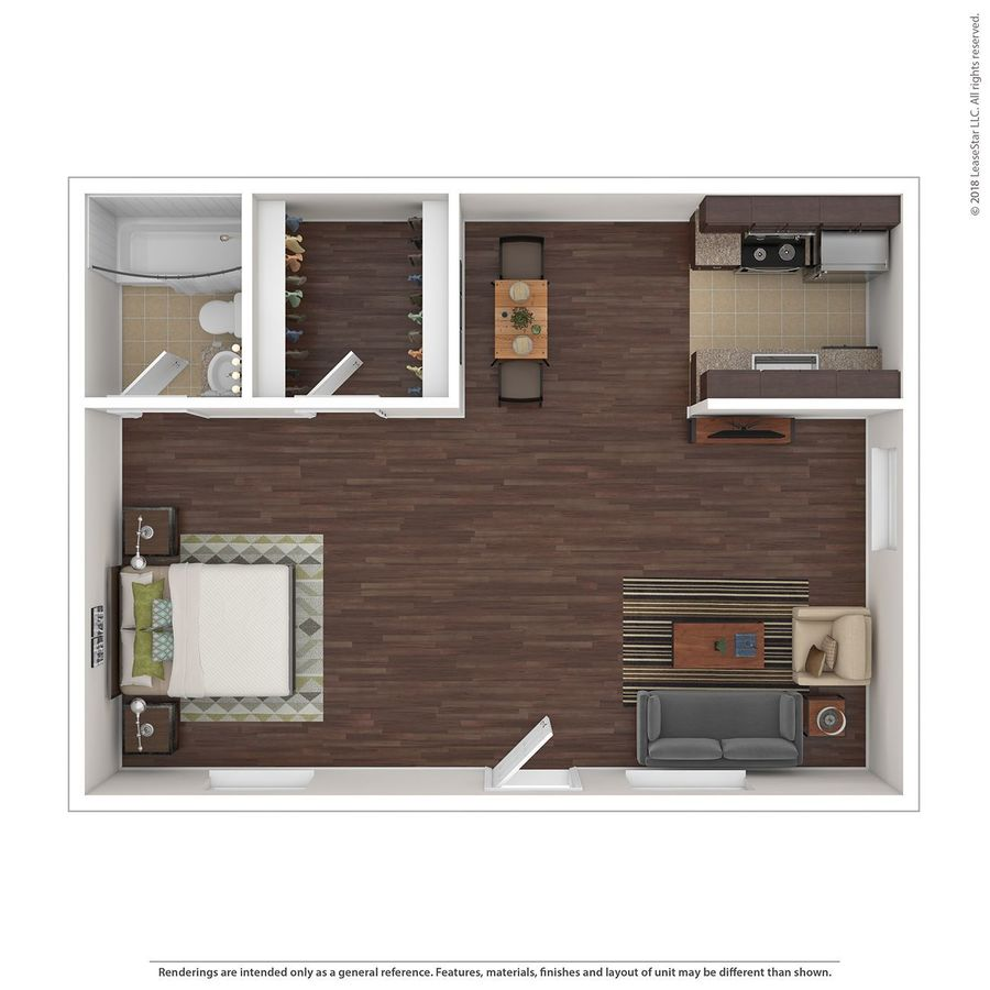 Studio 1 Bathroom Apartment for rent at Stillwater in Glendale, AZ