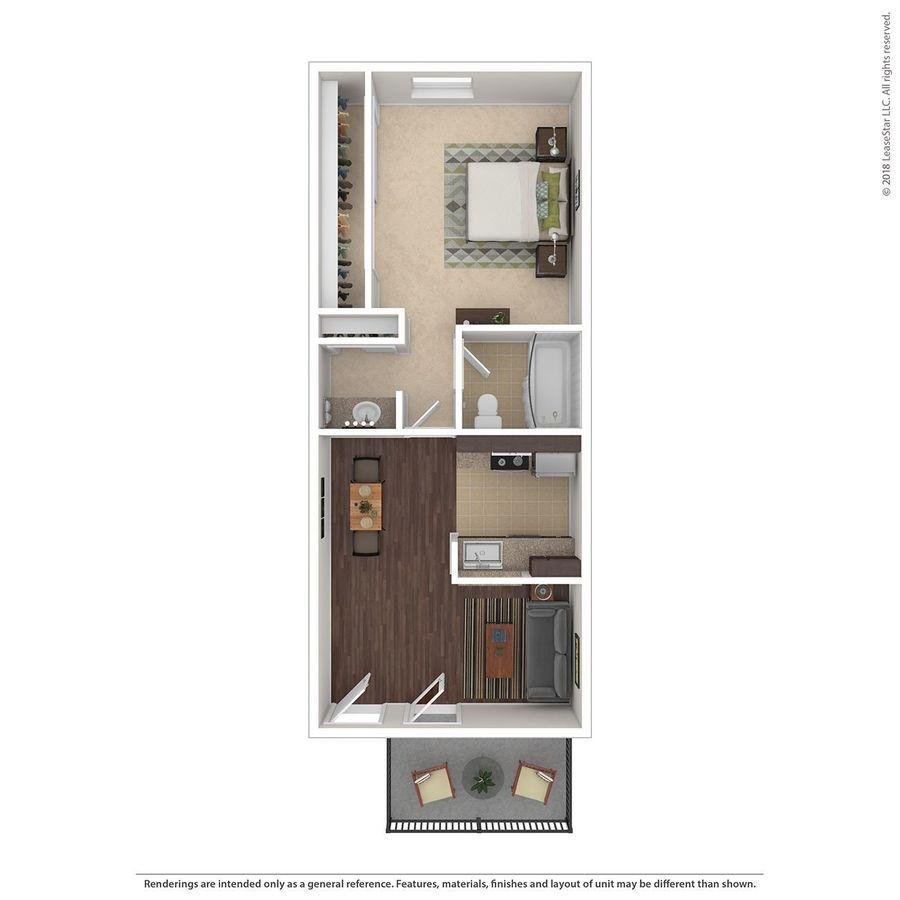 1 Bedroom 1 Bathroom Apartment for rent at Stillwater in Glendale, AZ