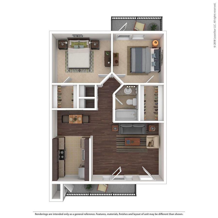 2 Bedrooms 1 Bathroom Apartment for rent at Stillwater in Glendale, AZ