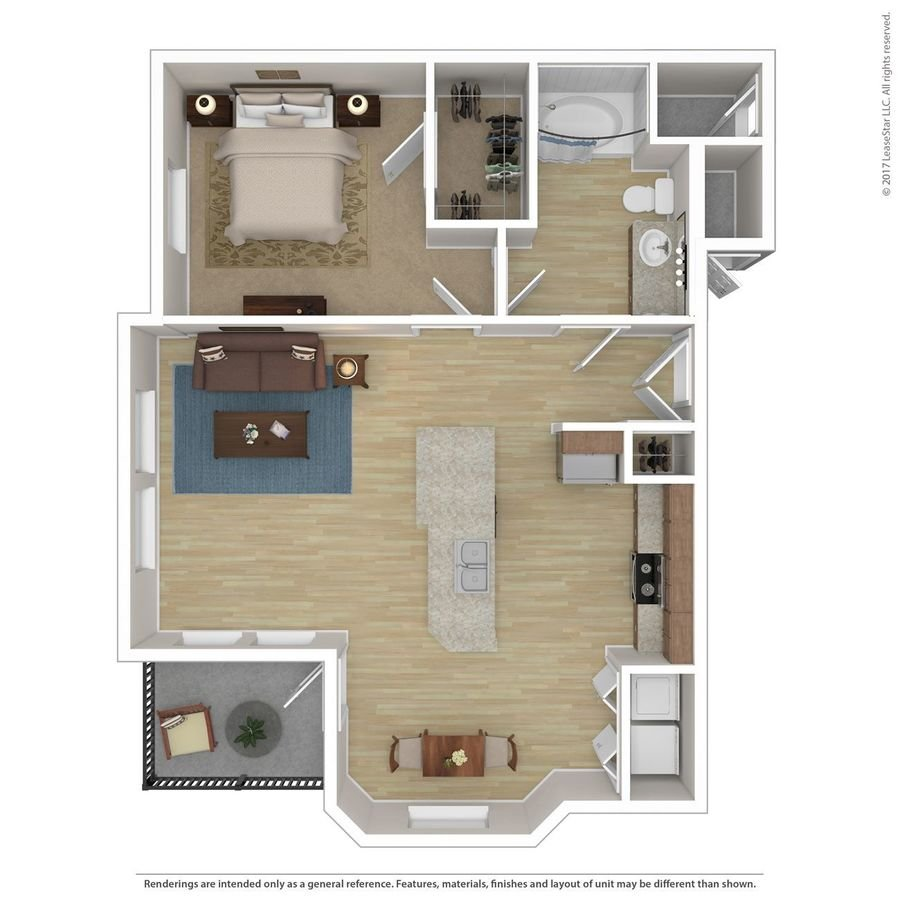 1 Bedroom 1 Bathroom Apartment for rent at Andante in Phoenix, AZ