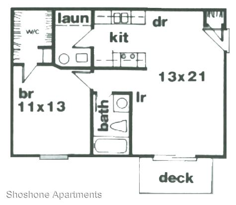 1 Bedroom 1 Bathroom Apartment for rent at 1855 Shoshone Dr in Lafayette, IN