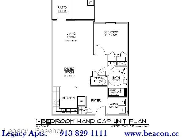 1 Bedroom 1 Bathroom Apartment for rent at 2429 North 155th Street in Basehor, KS