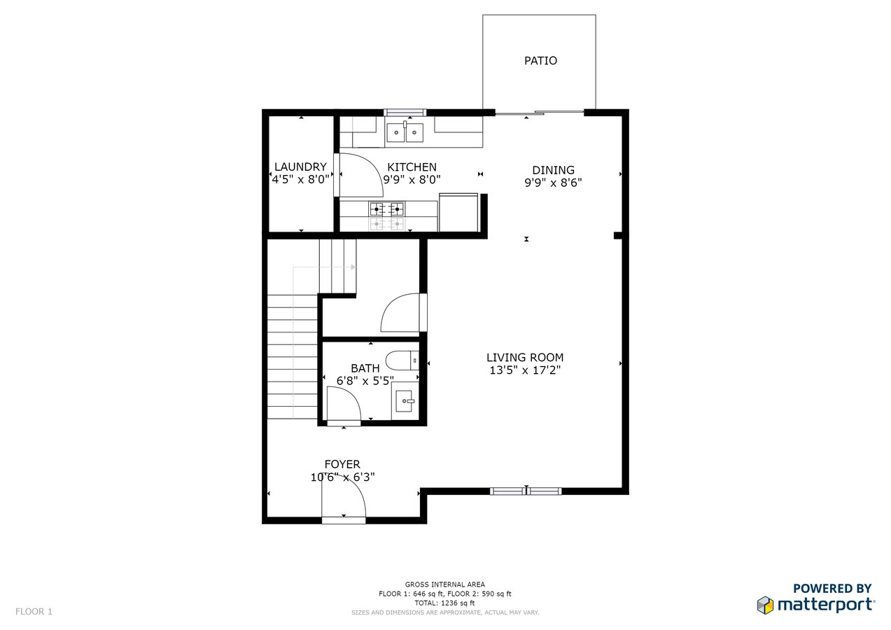 2 Bedrooms 3 Bathrooms Apartment for rent at Hawkins Point Townhomes in Mascoutah, IL