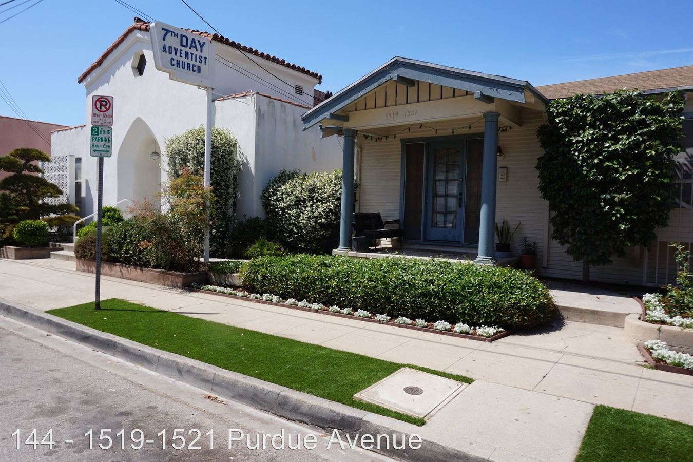 1 Bedroom 1 Bathroom Apartment for rent at 1519-1521 Purdue Ave. in Los Angeles, CA