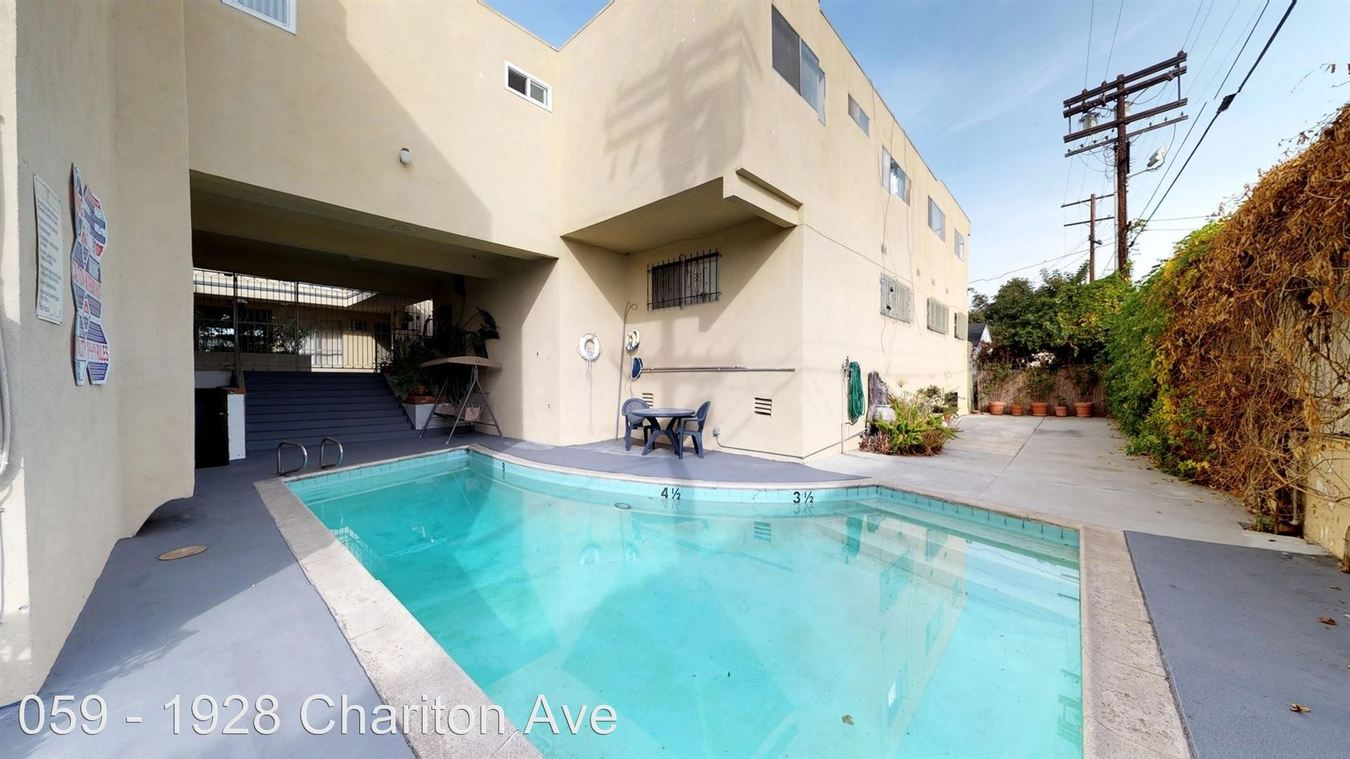1 Bedroom 1 Bathroom Apartment for rent at 1928 Chariton Street in Los Angeles, CA