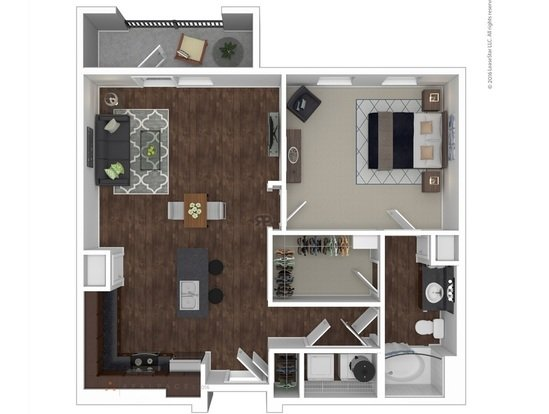 1 Bedroom 1 Bathroom Apartment for rent at Anatole At City View in Lubbock, TX