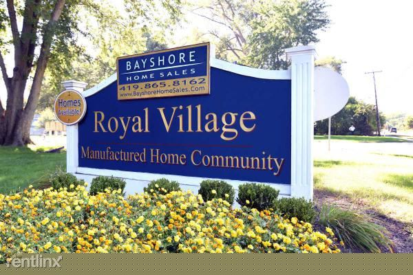 1 Bedroom 1 Bathroom Apartment for rent at Royal Village in Toledo, OH
