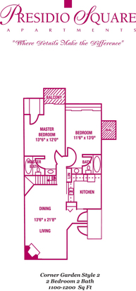 2 Bedrooms 2 Bathrooms Apartment for rent at Presidio Square Apartments in Milwaukee, WI