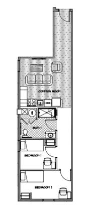 2 Bedrooms 1 Bathroom Apartment for rent at Diamond Green in Philadelphia, PA