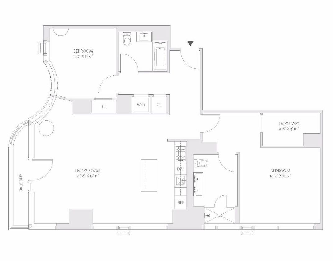 2 Bedrooms 2 Bathrooms Apartment for rent at 1065 2nd Avenue in New York, NY