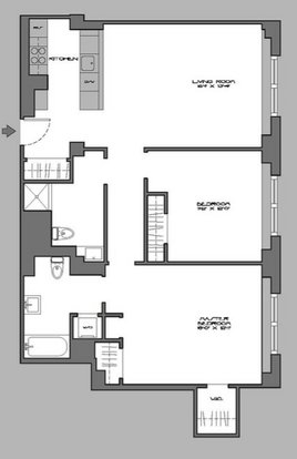 2 Bedrooms 2 Bathrooms Apartment for rent at 666 West End Avenue in New York, NY