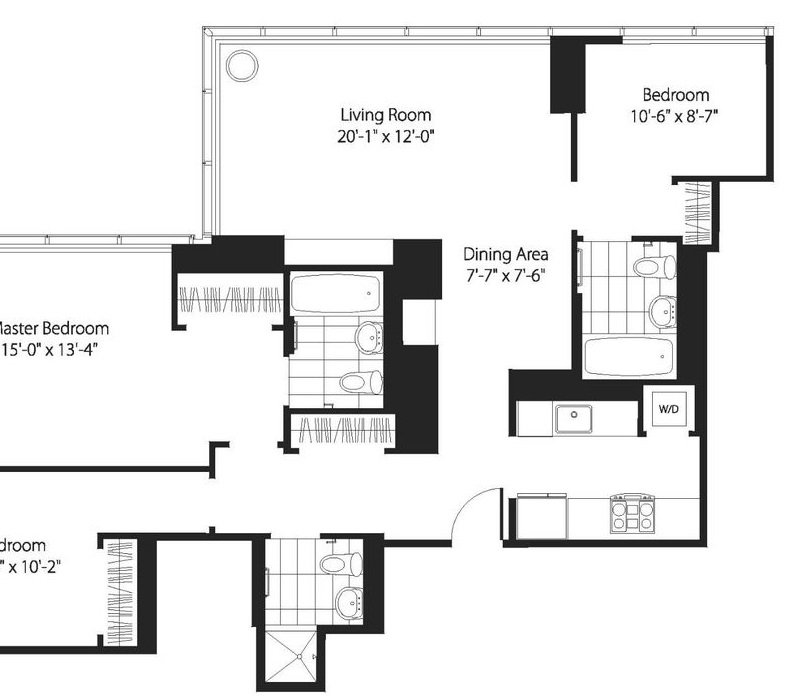 3 Bedrooms 3 Bathrooms Apartment for rent at 200 West 67th St in New York, NY