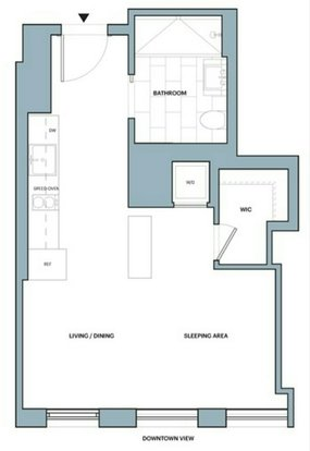 Studio 1 Bathroom Apartment for rent at 626 1st Avenue in New York, NY