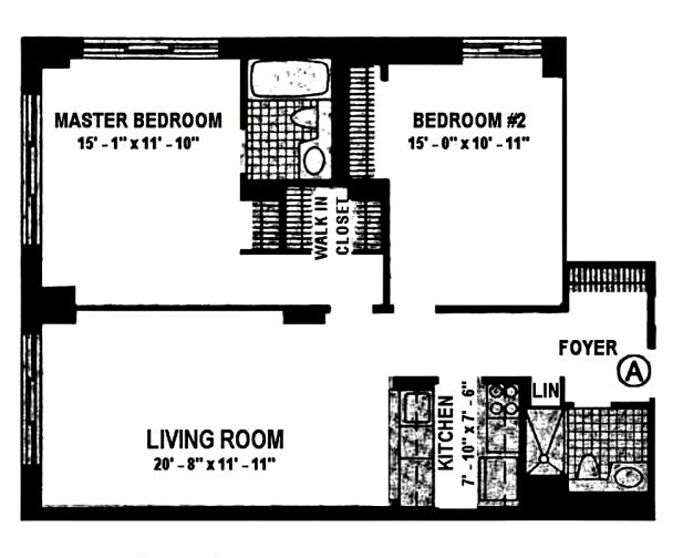 2 Bedrooms 2 Bathrooms Apartment for rent at 260 West 52nd St in New York, NY