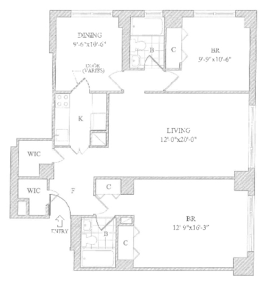 2 Bedrooms 2 Bathrooms Apartment for rent at 201 East 87th St in New York, NY