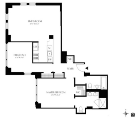 2 Bedrooms 2 Bathrooms Apartment for rent at 21 West 86th St in New York, NY