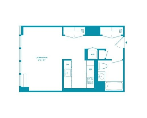 Studio 1 Bathroom Apartment for rent at 100 West 31st St in New York, NY