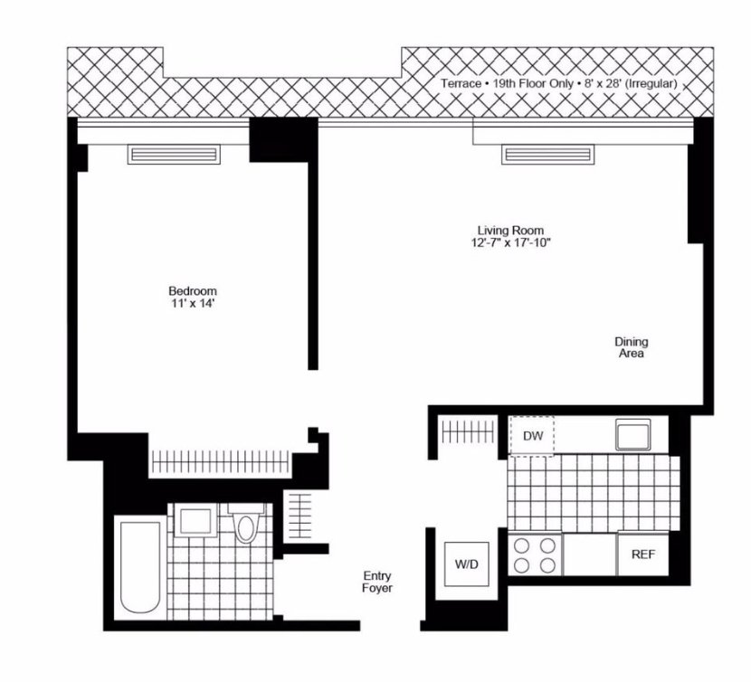 1 Bedroom 1 Bathroom Apartment for rent at 240 East 86th St in New York, NY