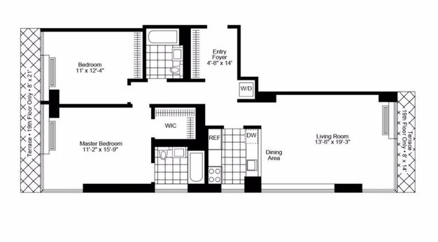 2 Bedrooms 2 Bathrooms Apartment for rent at 240 East 86th St in New York, NY