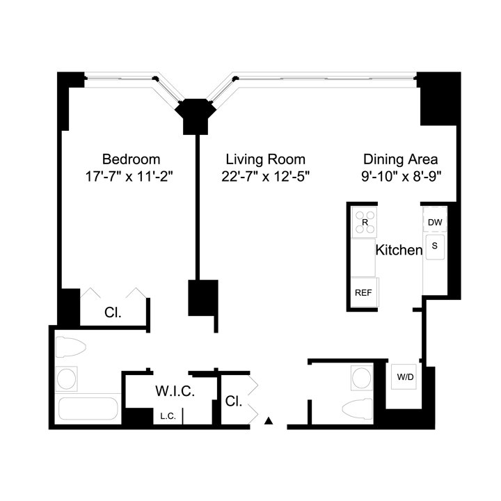 1 Bedroom 1 Bathroom Apartment for rent at 350 East 79th St in New York, NY