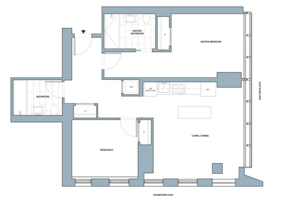 2 Bedrooms 2 Bathrooms Apartment for rent at 626 1st Avenue in New York, NY
