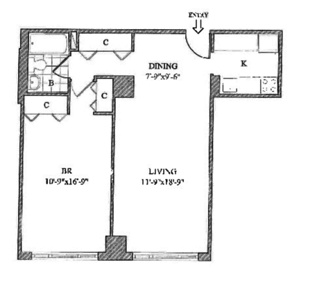 1 Bedroom 1 Bathroom Apartment for rent at 201 East 87th St in New York, NY