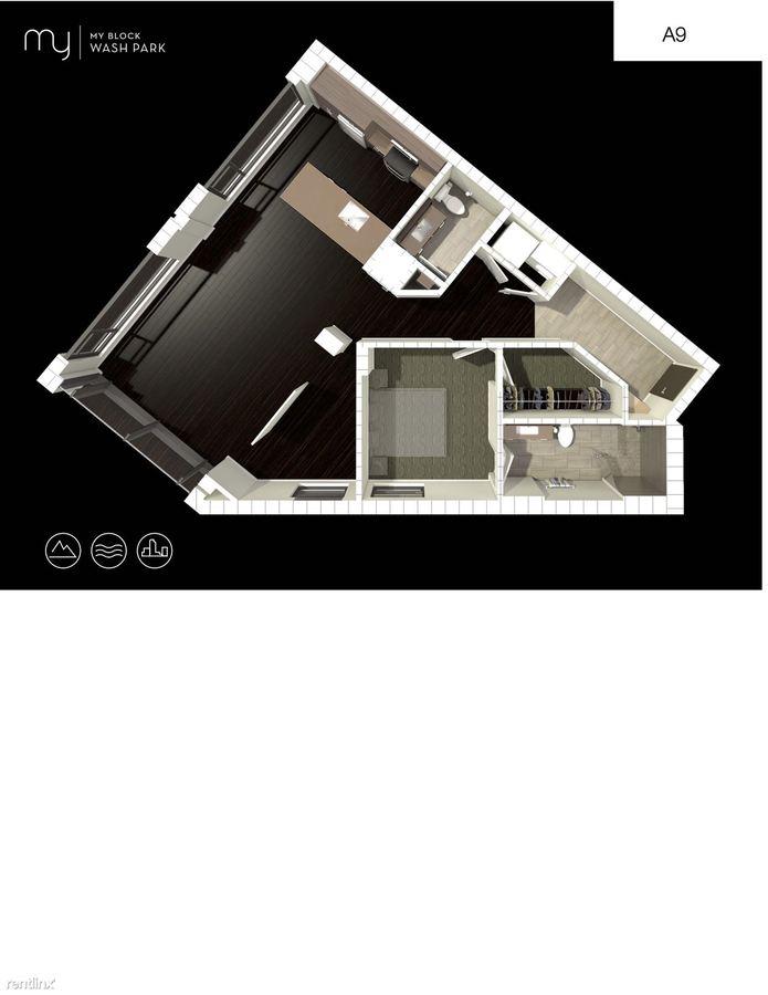 1 Bedroom 1 Bathroom Apartment for rent at My Block Wash Park in Denver, CO