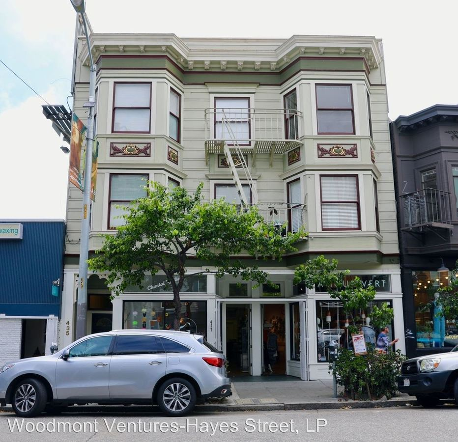 1 Bedroom 1 Bathroom Apartment for rent at 435 Hayes Street in San Francisco, CA
