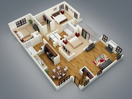 3 Bedrooms 2 Bathrooms Apartment for rent at Inverness Cliffs in Birmingham, AL