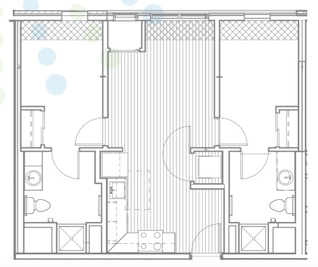 2 Bedrooms 2 Bathrooms Apartment for rent at Radius @ 15th in Minneapolis, MN