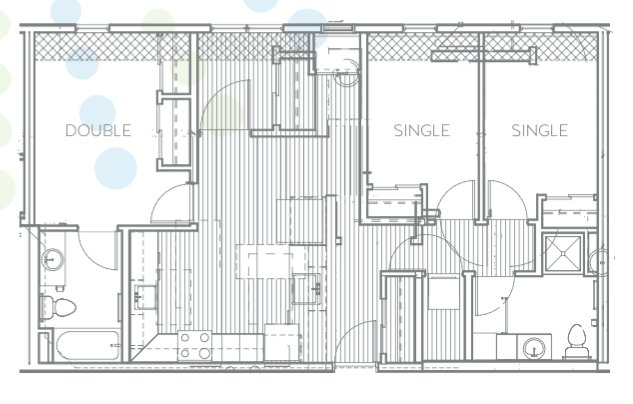 3 Bedrooms 2 Bathrooms Apartment for rent at Radius @ 15th in Minneapolis, MN