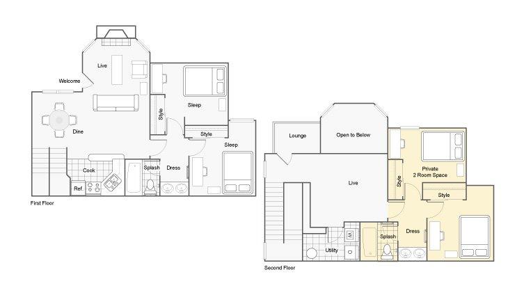 4 Bedrooms 2 Bathrooms Apartment for rent at The Hub At Auburn Apartment Homes in Auburn, AL