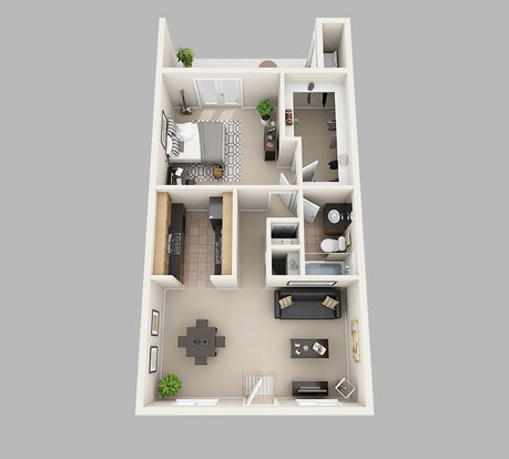 1 Bedroom 1 Bathroom Apartment for rent at Lux13 Apartments in Gainesville, FL