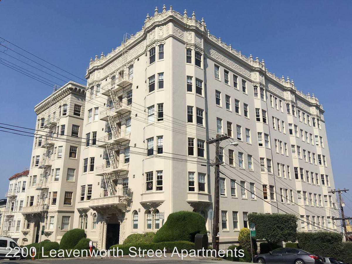 1 Bedroom 1 Bathroom Apartment for rent at 2200 Leavenworth Street in San Francisco, CA