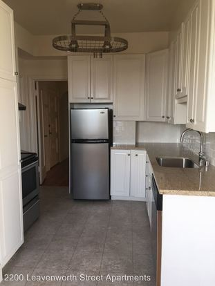 2 Bedrooms 2 Bathrooms Apartment for rent at 2200 Leavenworth Street in San Francisco, CA