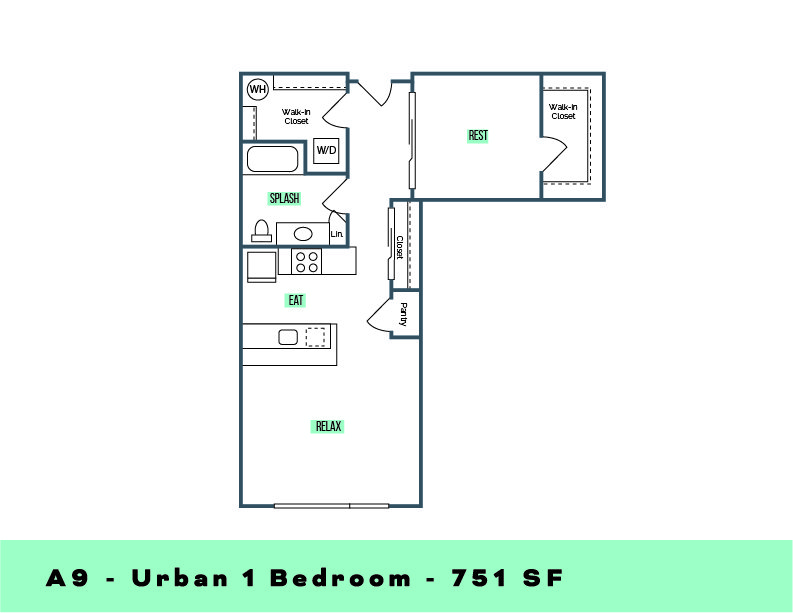 1 Bedroom 1 Bathroom Apartment for rent at Lane Apartments in Seattle, WA