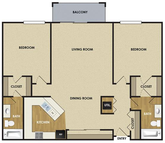 2 Bedrooms 2 Bathrooms Apartment for rent at The Woodlands Of Minnetonka in Minnetonka, MN